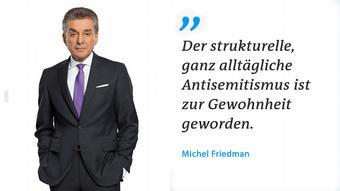 Мишель Фридман: Структурный, повседневный антисемитизм давно вошел в привычку