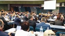 Plenarsaal des Europäischen Parlaments