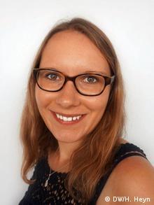kulturweit-Alumna Hannah Heyn war mit der DW Akademie in Namibia. | Hannah Heyn