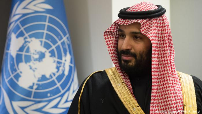 USA UN New York - Prinz Mohammed bin Salman Al Saud (Getty Images/AFP/B. R. Smith)