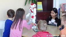 Finnland Einsatz von Roboter im Schulunterricht