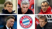 Kombobild gescheiterte Bayern München Trainer