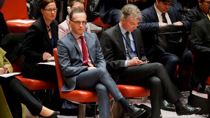 Heiko Maas at the UN