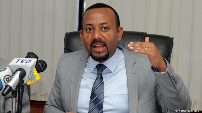 Abiye Ahmed in Addis Ababa