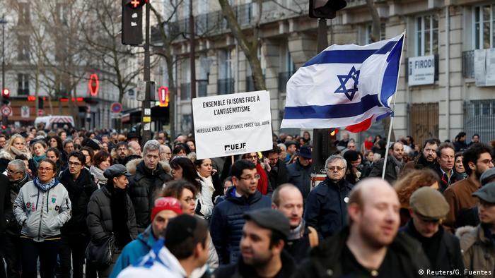 Frankreich - Erinnerung an Mireille Knoll - MarcheBlanche (Reuters/G. Fuentes)
