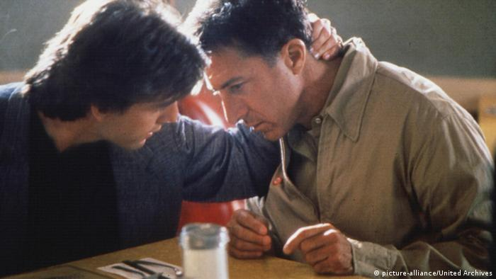 Filmstill - Rain Man with Tom Cruise and Dustin Hoffmann