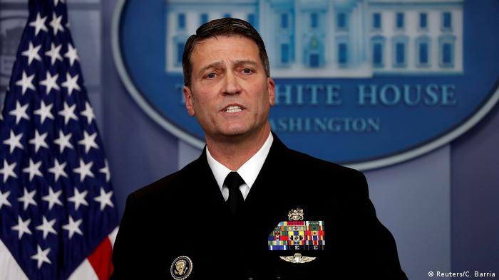 White House physician Ronny Jackson (Reuters/C. Barria)