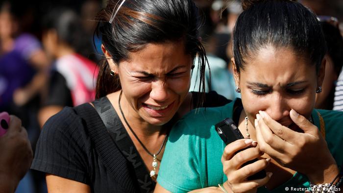 Venezuela Valencia Unruhen in Gefängnis (Reuters/C. G. Rawlins)
