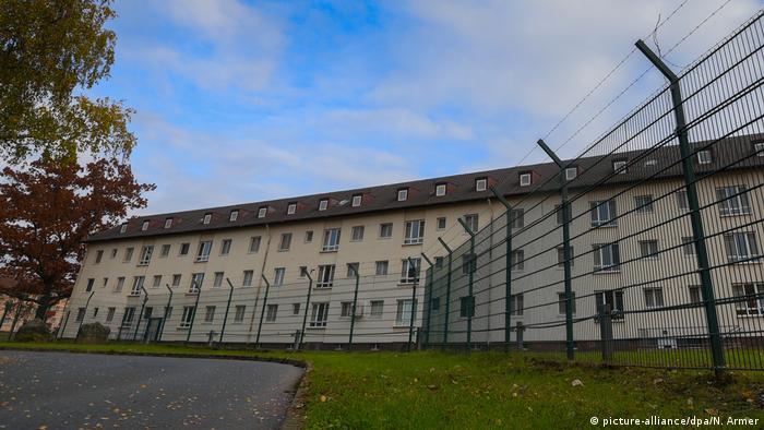 Flüchtlingszentrum in Bamberg (picture-alliance/dpa/N. Armer)
