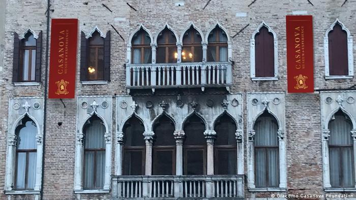 Museum Casanova, Palazzo Papafava, di kota Venesia, Italia (Giacomo Casanova Foundation)