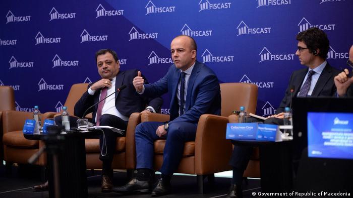 Mazedonien Koco Angusev und Dragan Tevdovski