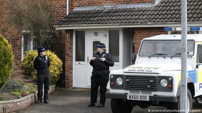 Nach dem Anschlag in Salisbury (picture-alliance/dpa/AP/F. Augstein)