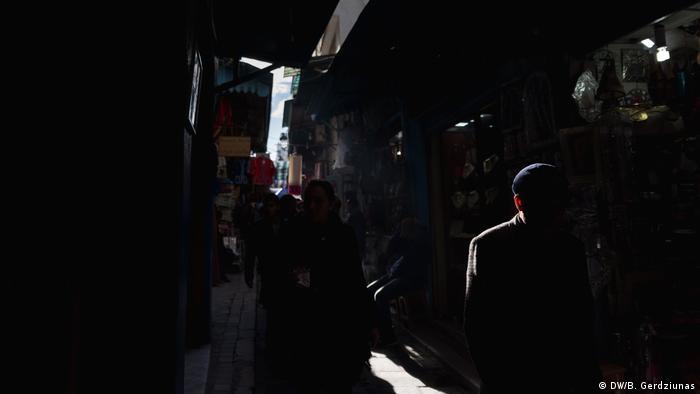 A street scene in Tunis (DW/B. Gerdziunas)