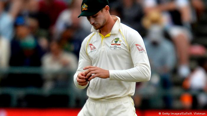 Australien Cricket Cameron Bancroft tampering ball