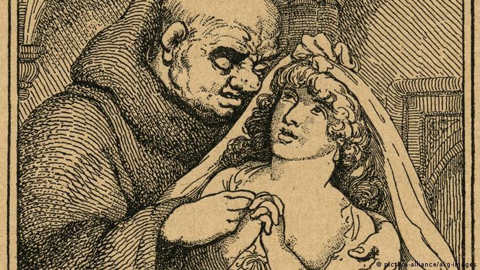 کشیش و کودک معترف، تابلویی از توماس رولاندسون (۱۸۲۷ - ۱۷۵۶)