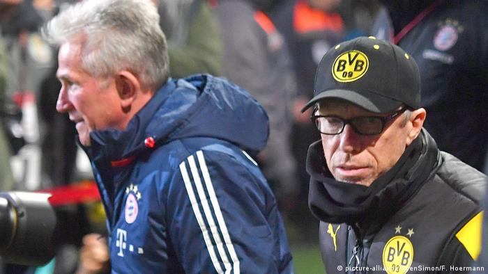 Jupp Heynckes und Peter Stöger (picture-alliance/SvenSimon/F. Hoermann)