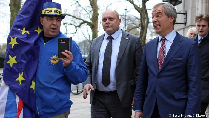 UK Symbolbild Brexit | Nigel Farage (Getty Images/D. Kitwood)