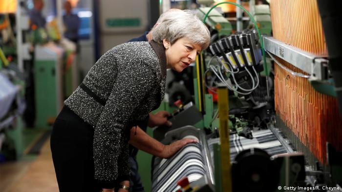 UK Symbolbild Brexit   Theresa May (Getty Images/R. Cheyne)