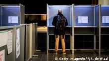 Niederlande Stimmabgabe