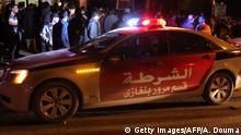 Libyen Polizei in Bengasi