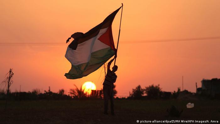 Palästina Vor dem Marsch der Rückkehr in Rafah (picture-alliance/dpa/ZUMA Wire/APA Images/A. Amra)