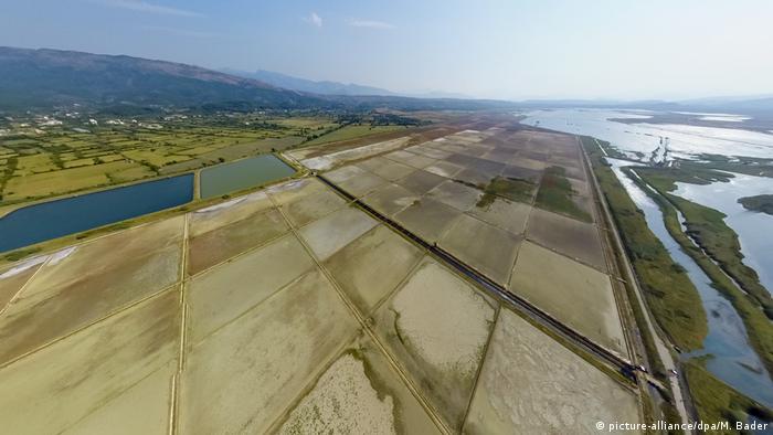 Montenegro Saline Ulcinj (picture-alliance/dpa/M. Bader)