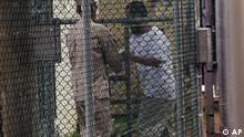 Uigurische Häftlinge auf Guantanamo