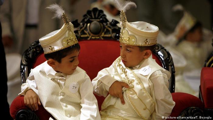 Turkish circumcision celebration