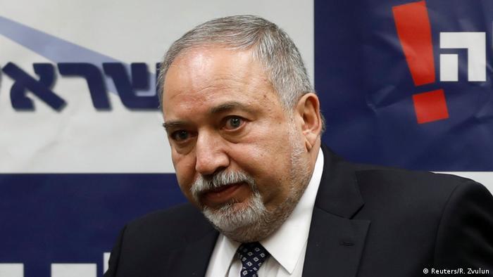 آویگدور لیبرمن، وزیر دفاع اسرائيل