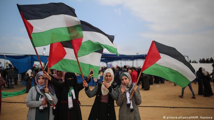 Gaza   Marsch der Rückkehr (picture-alliance/AA/M. Hassona)