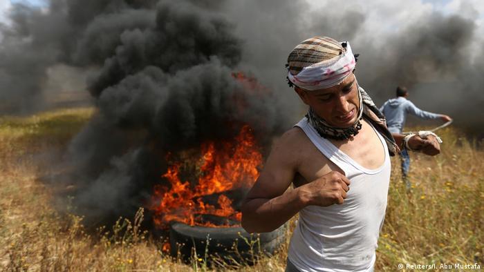 Gaza   Marsch der Rückkehr (Reuters/I. Abu Mustafa)
