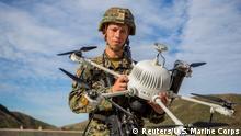 US Marine testet neue Waffentechnologie