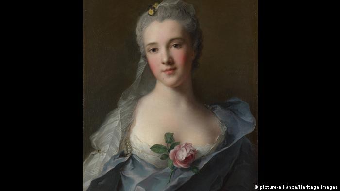 Lukisan Manon Balletti oleh Jean-Marc Nattier (picture-alliance/Heritage Images)