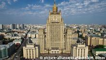 Russland Außenministerium in Moskau