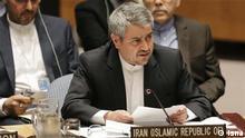 Gholam Ali Khoshrou, Iran-Botschafter bei UN