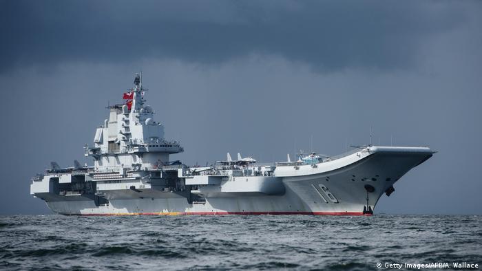 China Liaoning Flugzeugträger der Marine der Volksrepublik China (Getty Images/AFP/A. Wallace)
