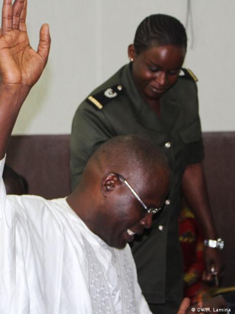 Khalifa Sall, the mayor of Dakar, in court for corruption