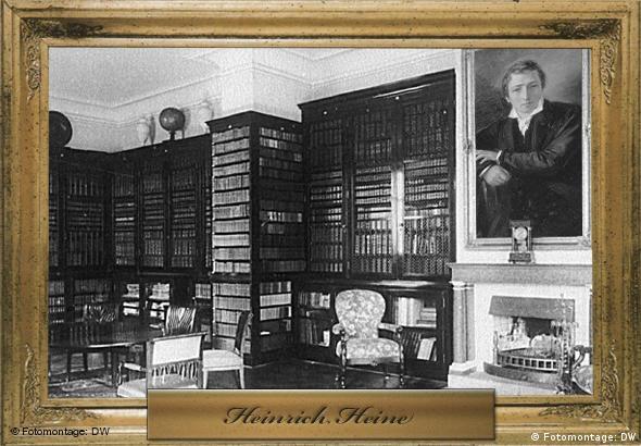 Heinrich Heine (Porträt: picture-alliance / dpa, Montage: Philip Kleine / Peter Steinmetz)