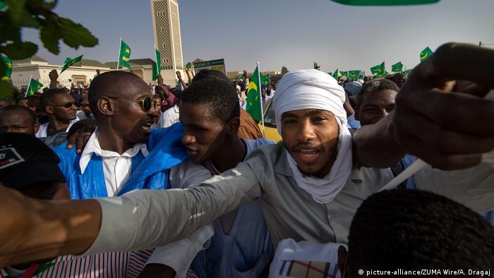 Sklaven in Mauretanien demonstrieren für Gleichberechtigung und soziale Eingliederung (picture-alliance/ZUMA Wire/A. Dragaj)