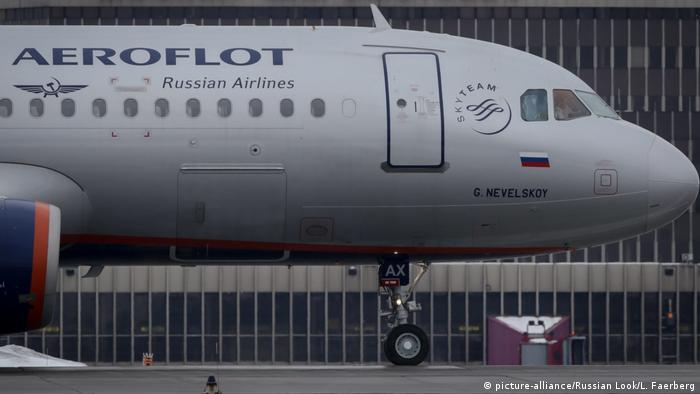 Aeroflot Airbus A320 (picture-alliance/Russian Look/L. Faerberg)
