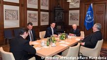 Wien Treffen Außenminister Mazedonien und Griechenland