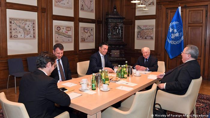 Wien Treffen Außenminister Mazedonien und Griechenland (Ministry of Foreign Affairs Macedonia)