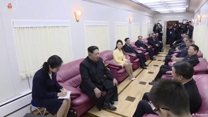 China - Besuch von Kim Jong Un - Verabschiedung in Beijing(Reuters)