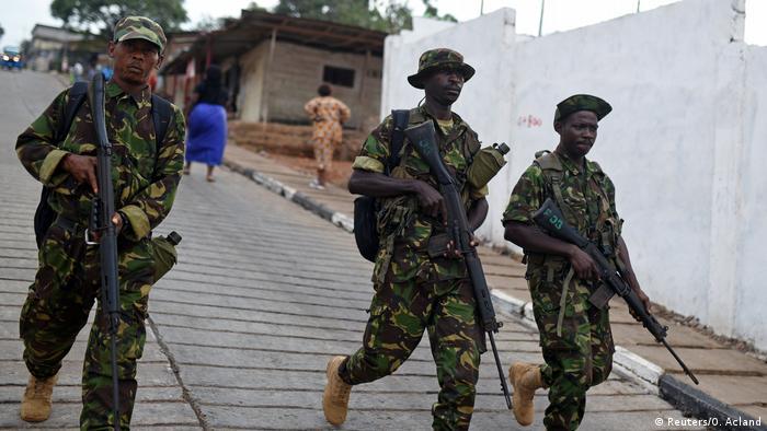 Sierra Leone Stichwahl für Präsidentenamt in Freetown