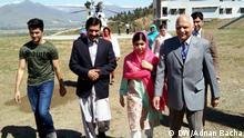Pakistan Malala Yousafzai in Heimatstadt Mingora im Swat Valley