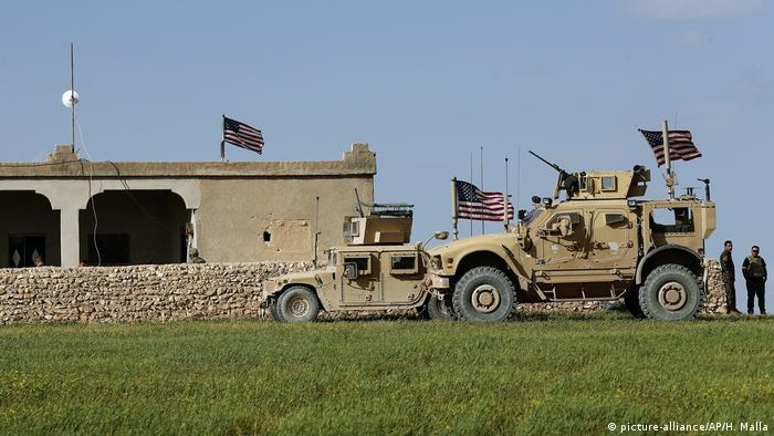 US special forces in Manbij, Syria