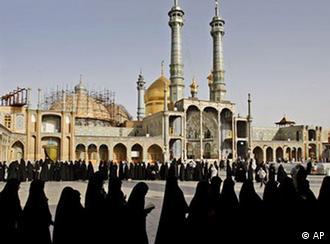 آرامگاه دختر امام هفتم شیعیان در قم