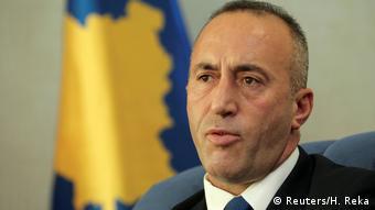 Kosovo Primierminister Ramush Haradinaj (Reuters/H. Reka)