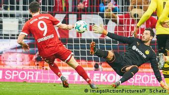 Deutschland Bayern München gegen Borussia Dortmund