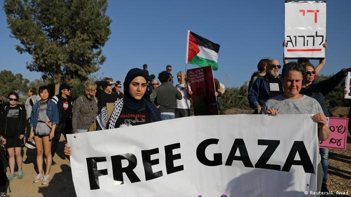 همبستگی نیروهای چپ اسرائیلی با فلسطینیها در نوار مرزی میان اسرائیل و غزه